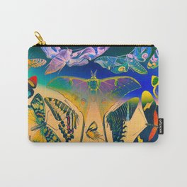 Psychedelic Butterflies Carry-All Pouch