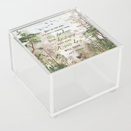 But in the end Acrylic Box