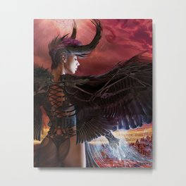 Dark Angel 2 by BAXA Metal Print