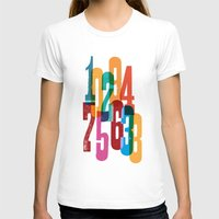 numbers T-shirts featuring Numbers by Marco Campedelli