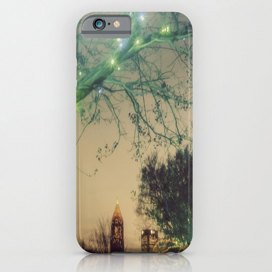 Christmastime In The City iPhone & iPod Case