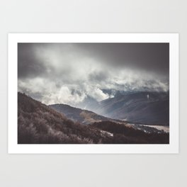 Waiting for the sun - Landscape and Nature Photography Art Print