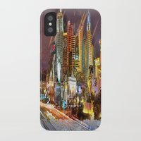 las vegas iPhone & iPod Cases featuring Vegas by Tami Cudahy