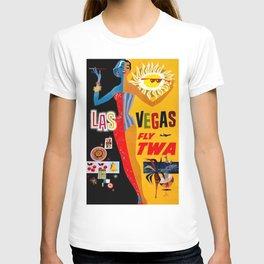 Vintage poster - Las Vegas T-shirt