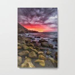 White Rock Beach - Killiney Metal Print