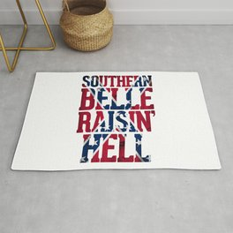 Southern Belle Raisin Hell Rug