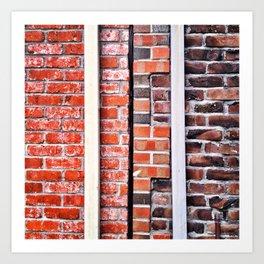 Brick Walls Art Print