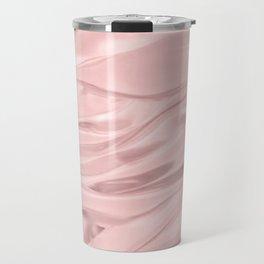 Rose Quartz Satin Travel Mug