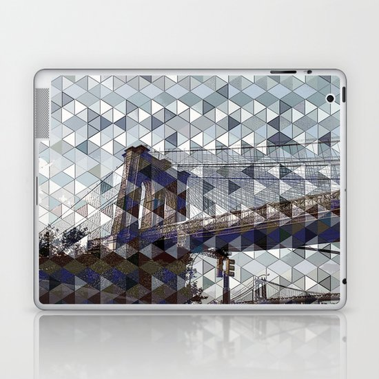 bridge of dreams Laptop & iPad Skin