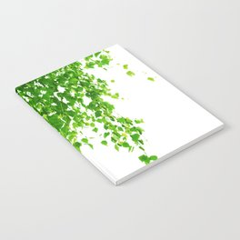 Green Leaves Delight #1 #tropical #decor #art #society6 Notebook