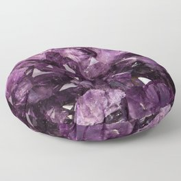 Amethyst Floor Pillow