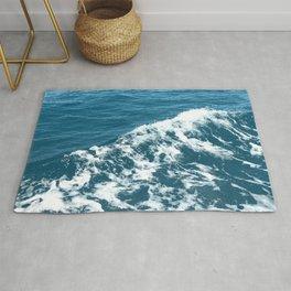 Ocean Sea Wave Rug