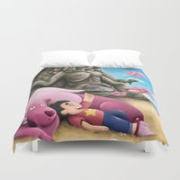 steven universe Duvet Covers featuring Steven Universe by toibi