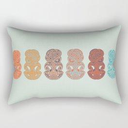 Hei Tiki Rectangular Pillow