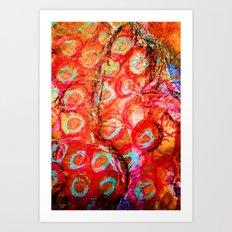 Delhi Bazaar Art Print