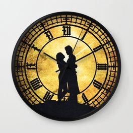 Through Time and Space Wall Clock