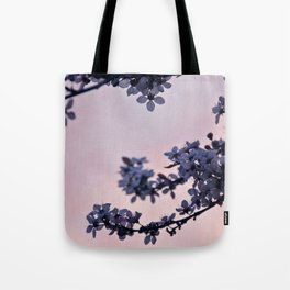 blossoms at dusk Tote Bag