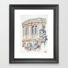 Oxford: Sheldonian Theatre Framed Art Print