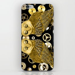Cogs and Owls iPhone Skin