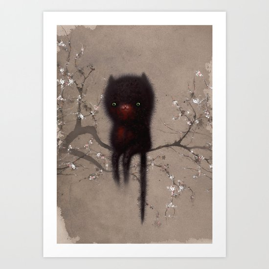 Bellamy and the Birds Art Print