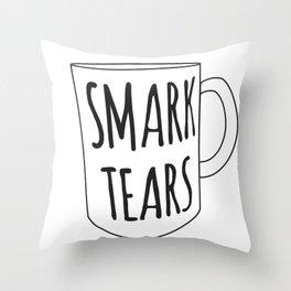Smark Tears Throw Pillow