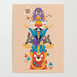 Honk Totem Poster