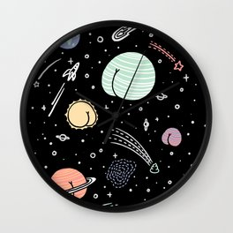 Asstronomy Wall Clock