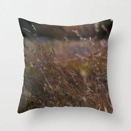 October Throw Pillow