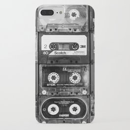 Something Nostalgic - black and white #decor #buyart #society6 iPhone Case