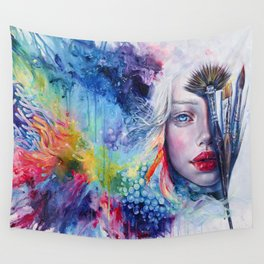 Coralized Wall Tapestry