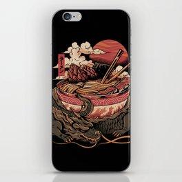 Dragon's Ramen iPhone Skin