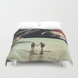 Set Sail for the Stars Duvet Cover