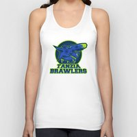 monster hunter Tank Tops featuring Monster Hunter All Stars - The Tanzia Brawlers by Bleached ink