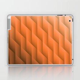 Gradient Orange Diamonds Geometric Shapes Laptop & iPad Skin