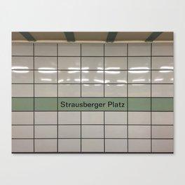 Strausberger Platz - Berlin Canvas Print