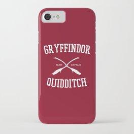 Hogwarts Quidditch Team: Gryffindor iPhone Case