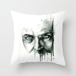 Cynical Sufferance Throw Pillow