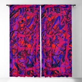 unreadable 2 Blackout Curtain