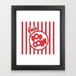Fresh Popcorn Framed Art Print