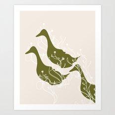 Duck Poster Art Print