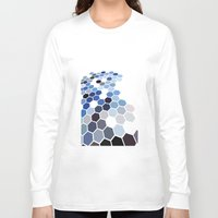 alaska Long Sleeve T-shirts featuring Alaska by Bakmann Art