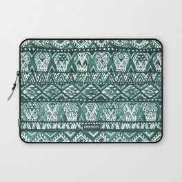 AZTECHIE Watercolor Skull Pattern Laptop Sleeve