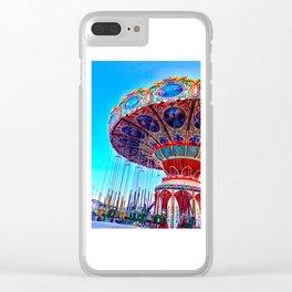 Swings Clear iPhone Case