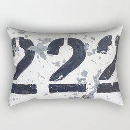 222 Angel Number Rectangular Pillow