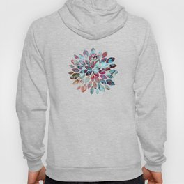 Colorful abstract marble II Hoody