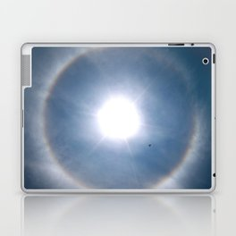 Rainbow Around the Sun Laptop & iPad Skin
