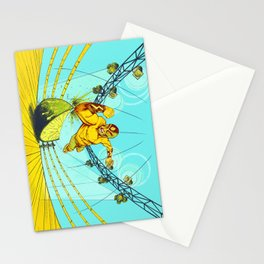 Luchador Lime Stationery Cards
