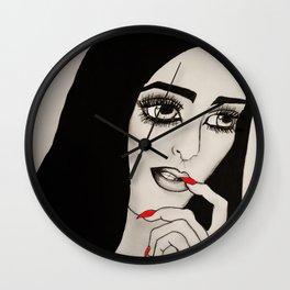 Silent Gesture Wall Clock