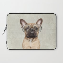 Mr French Bulldog Laptop Sleeve