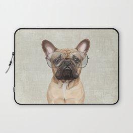 Mr French Bulldog Laptop Sleeve